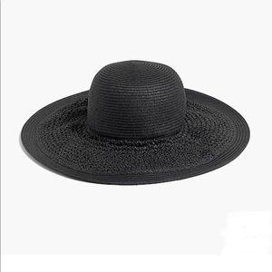 New J. Crew Textured Summertime Straw Hat